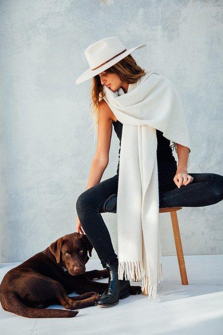 Pampa Puna OversizedScarf - Natural