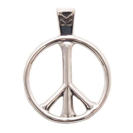 Maple Peace Pendant - Silver 925