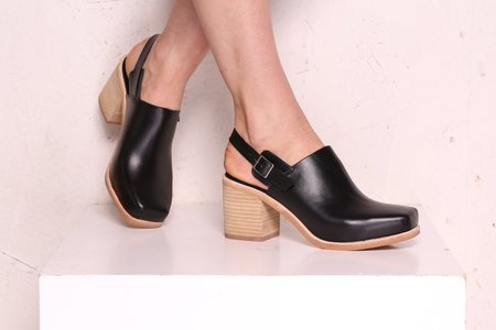 """""""INTENTIONALLY __________."""" Honcho Mule - Black Stacked"""