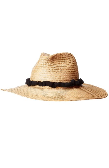 Hat Attack Braid Continental Hat - Natural