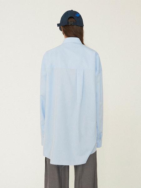Ader Error Unstable Shirt - Sky Blue