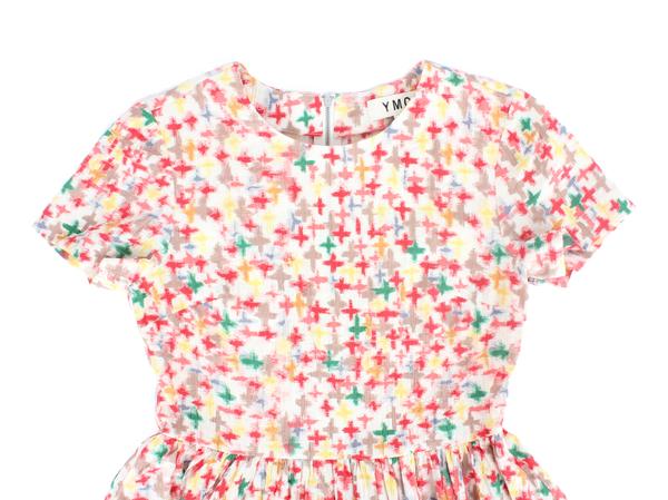 You Must Create Cross Print Dress