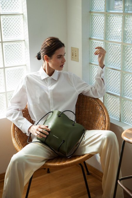 Kozha Numbers The Large Utility Bag - Green