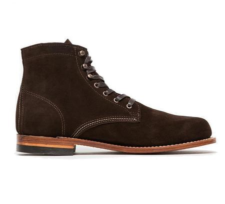 Wolverine 1000 Mile - brown suede