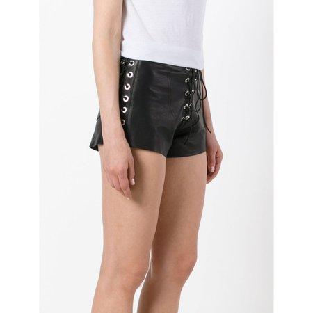 Manokhi Karlie Lace Up Shorts