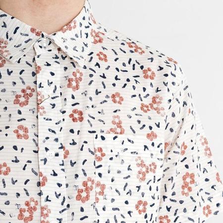 Bridge & Burn Harbor Hibiscus Shirt