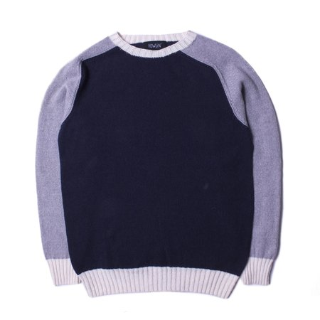 Howlin' Kaotic Harmony Knit Sweater - Navy