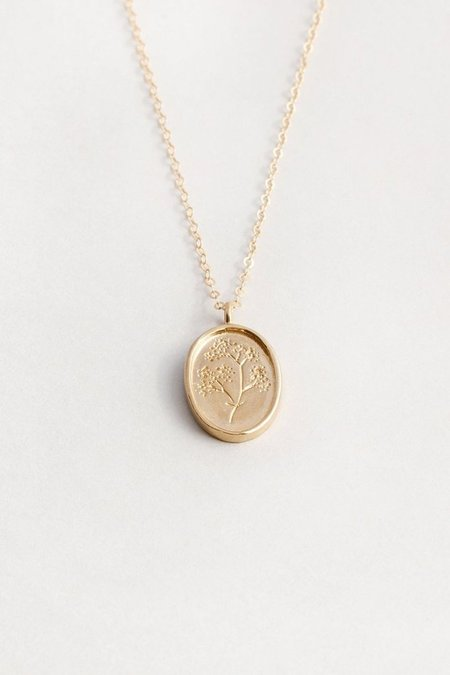 Wolf Circus Fleur Necklace - 14k Gold