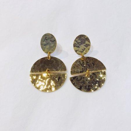 Judith Amiel Shapes Earrings 3 - 14k Gold