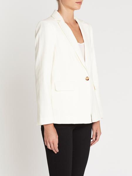 Frame Denim Classic Fine Blazer - Off White
