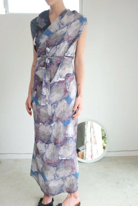 Anntian Wrapp Dress Print