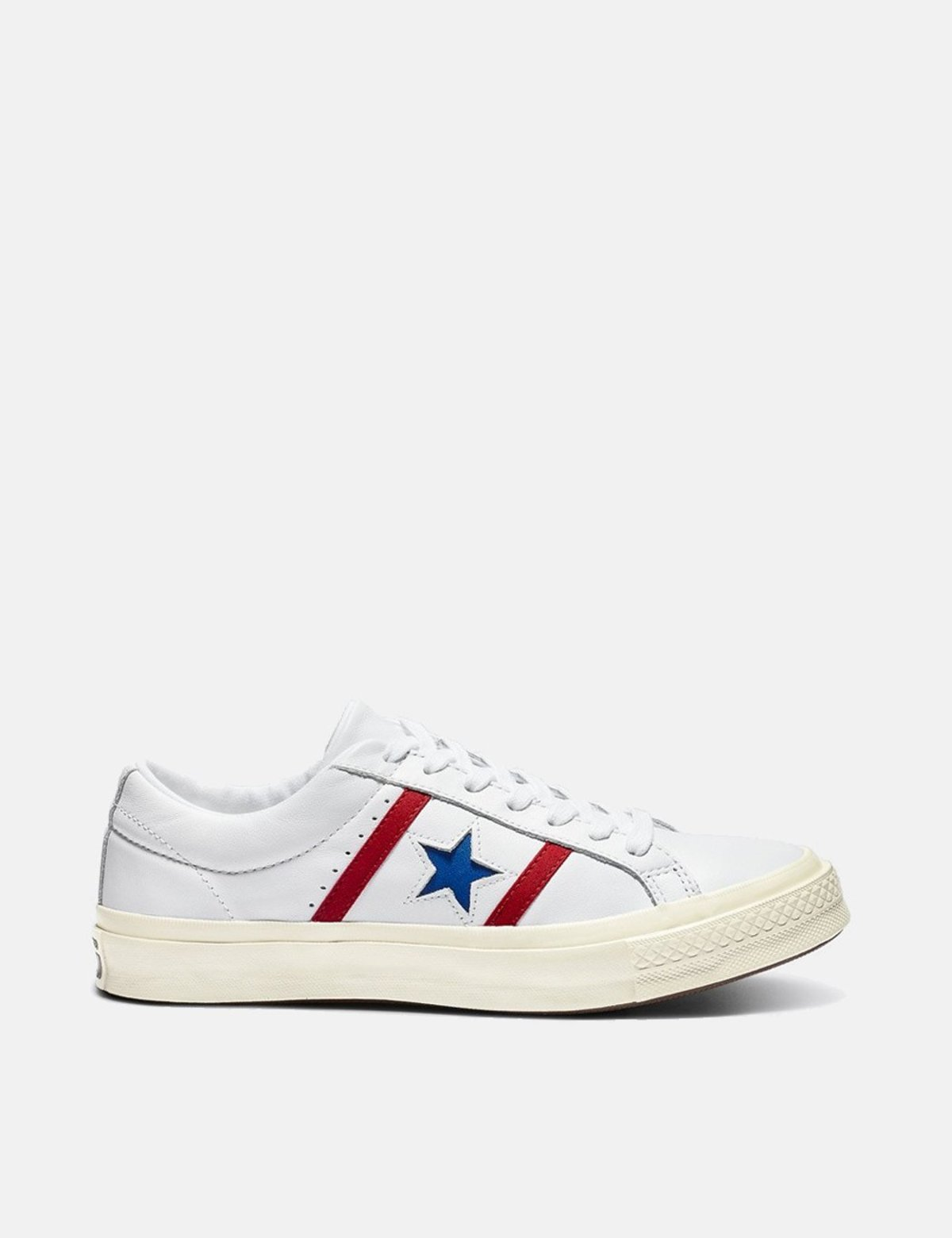 Converse One Star Academy Low Top (164390C) - White/Enamel Red/Blue