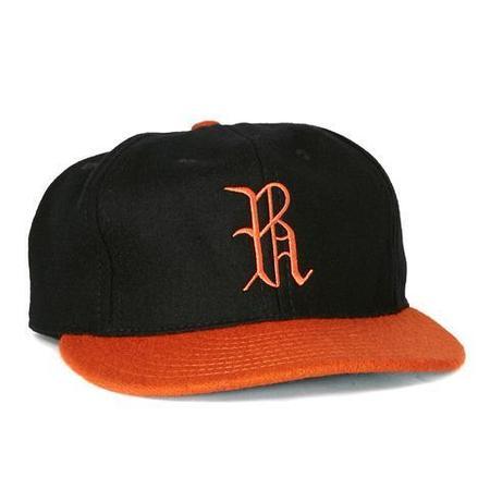 fbc862aa Ebbets Field Flannels Richmond Virginians 1955 Ballcap - Black/Orange