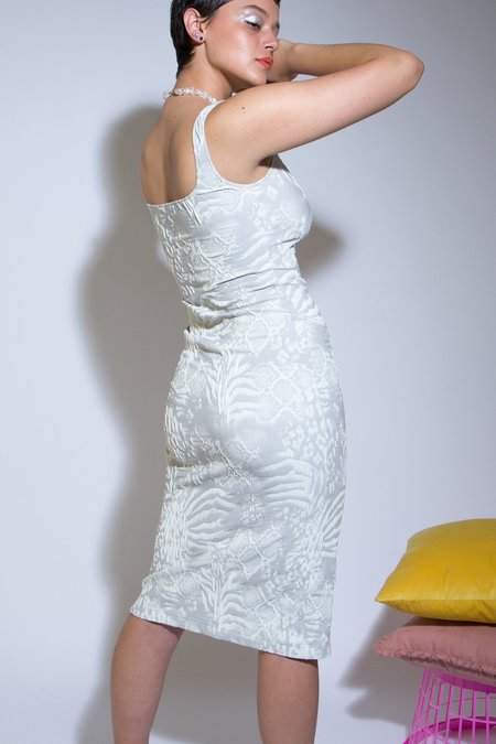 Maryam Nassir Zadeh Salma Dress - white