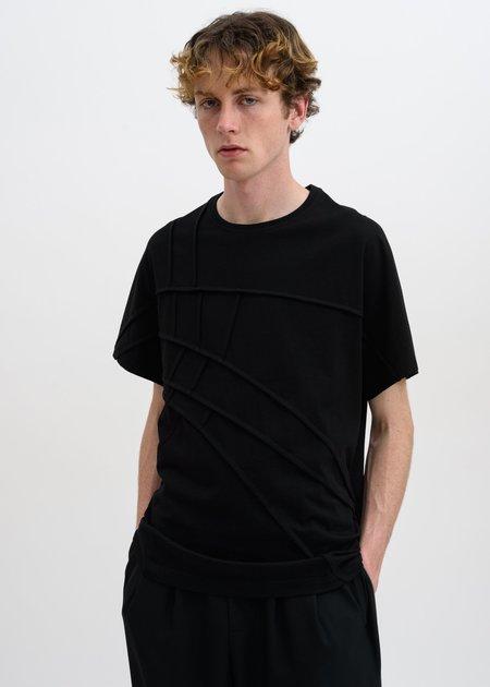 Feng Chen Wang Panelled T-Shirt - Black