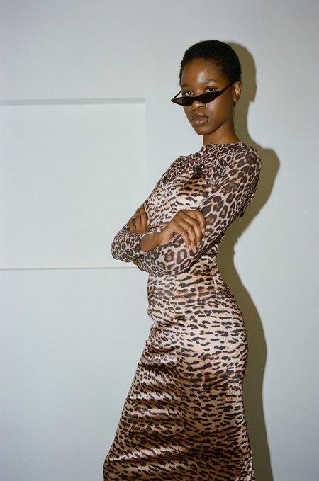 Sincerely, Tommy Vintage Maxine Dress - Leopard