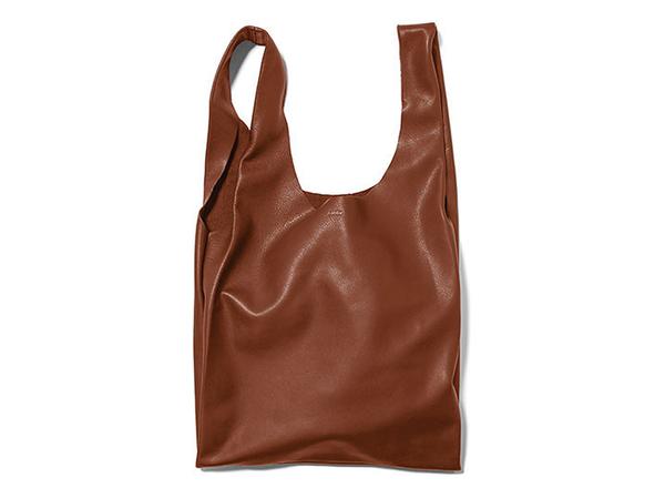 BAGGU Leather Over the Shoulder Purse