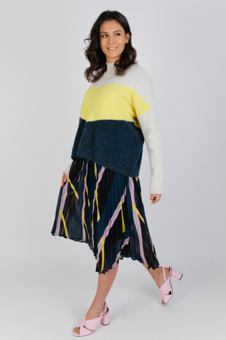Just Female Herle Knit - Pale Yellow