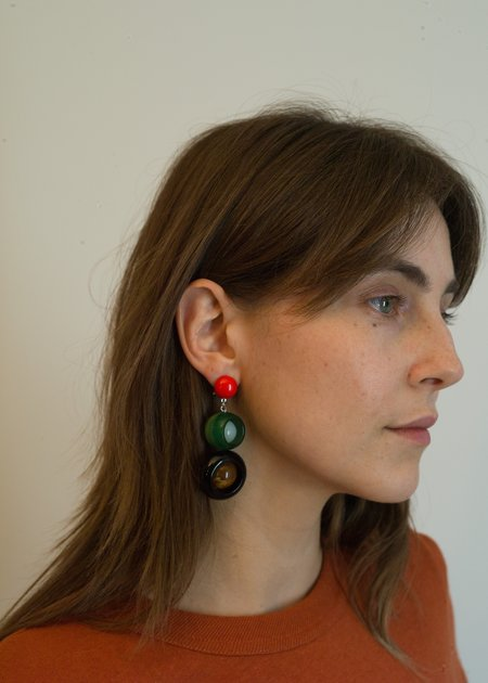 Rachel Comey Ladybird Earrings