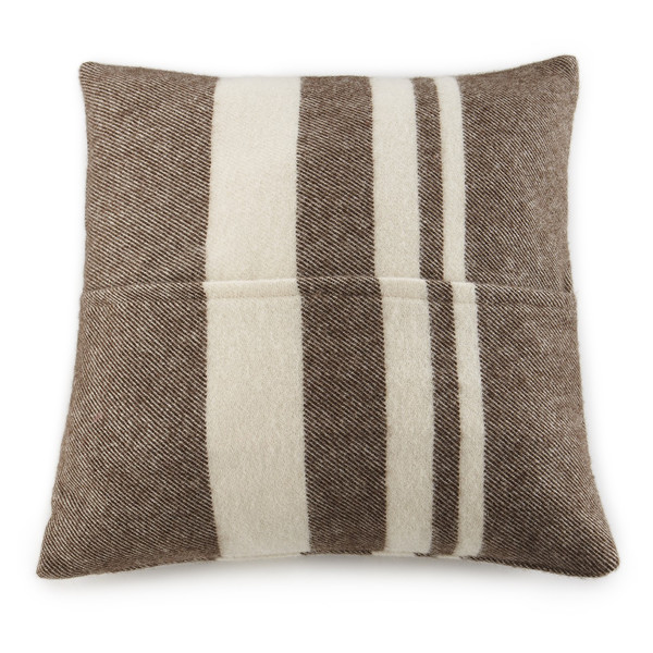 Lodge Stripe Wool Pillow