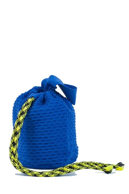 Angus Chiang Successful Bucket Bag - Blue