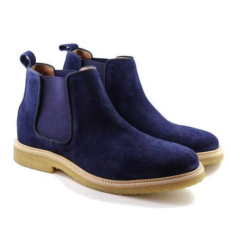 Brother x Frère Chadwick boots - Navy