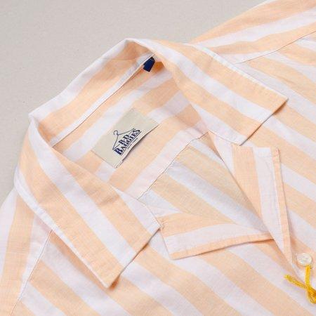 BD Baggies Hawaiian Shirt - Yellow Stripes