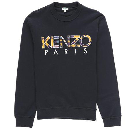 Kenzo Paris Classic Fit Sweat - BLACK