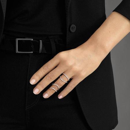 Messika Daisy Double Diamond Ring - 18K Rose Gold