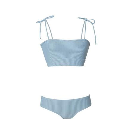 Made by Dawn ARROW SWIM TOP - Sky Rib