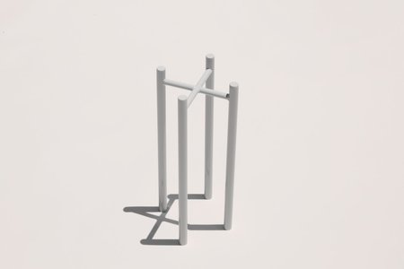 """Yield 8"""" Planter Stand - Pale Gray"""