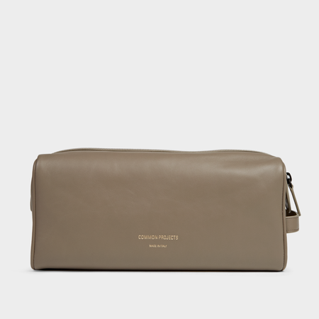 Common Projects Toiletry Bag - Warm Grey