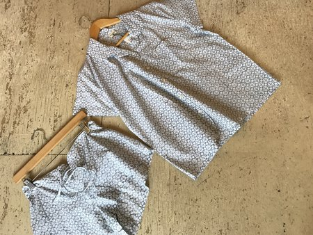 Mia & Finn Cotton Summer PJ Set - blockprint
