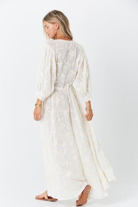 Jen's Pirate Booty Maiden Robe - Pearl