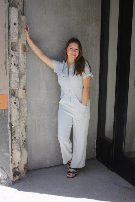 Rachel Pally Rocco Linen Jumpsuit - Bluebell