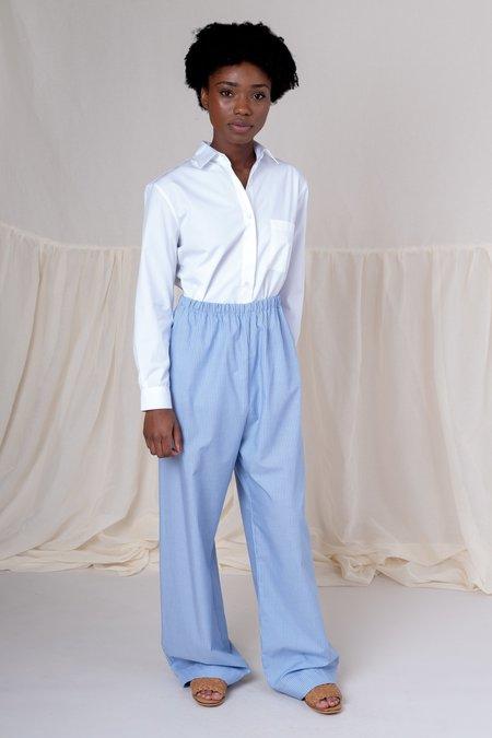 Baserange OLE TROUSERS - blue