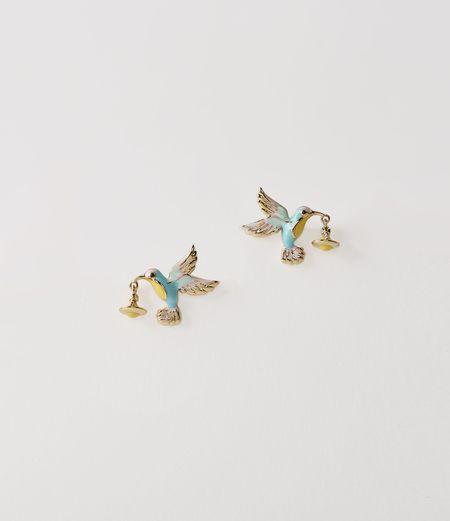 Vivienne Westwood Hummingbird Earrings