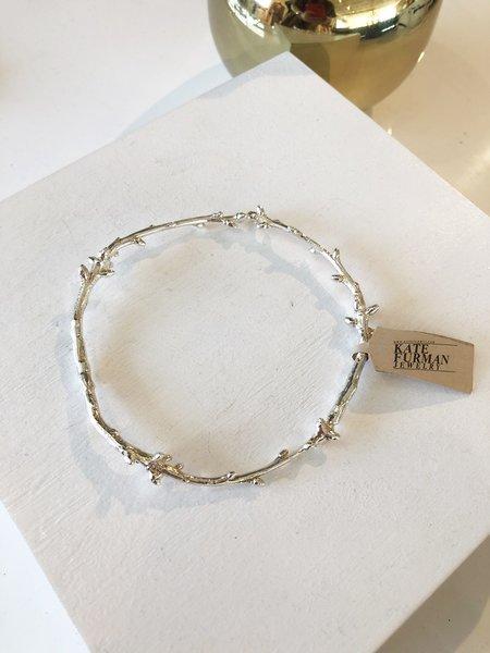 Kate Furman Jewelry Circular Twig Bracelet - silver