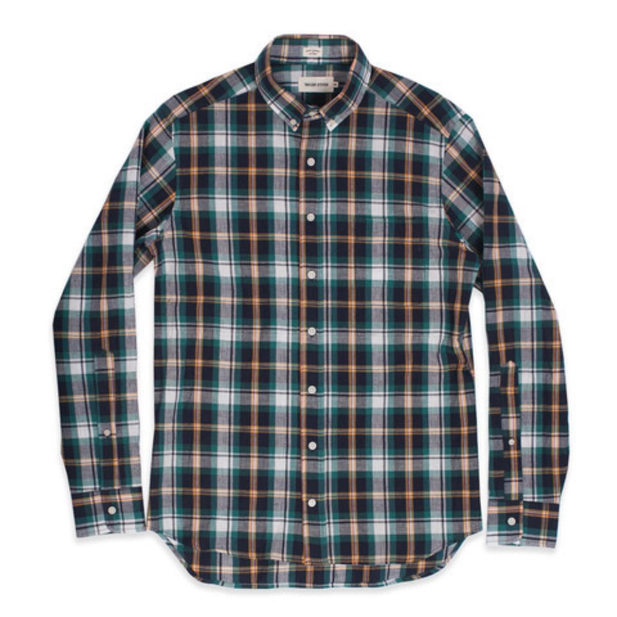 Men 39 s taylor stitch spruce indian madras shirt garmentory for Mens madras shirt sale