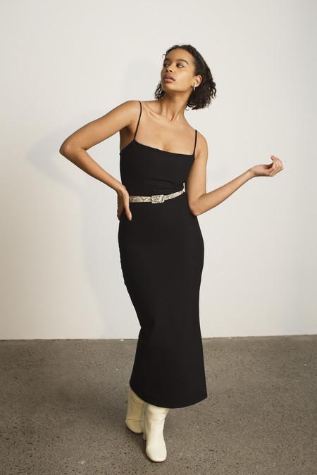 PARIS GEORGIA Soraya Dress - Black