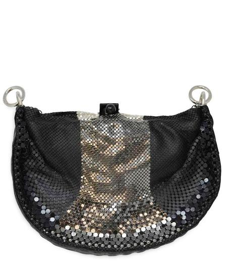 Laura B Strap Handbag - Black/Multi