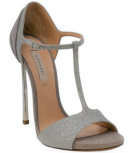 Casadei High Heel Sandal - Argento