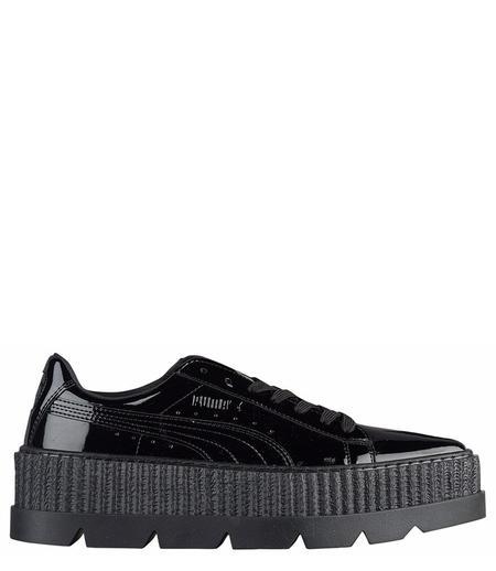 Puma x rihanna Men's Black Pointy Creeper Patent shoes - black