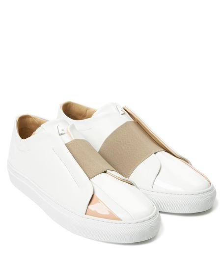 Daniel Essa 1832 Sneaker - White/Cafe Latte