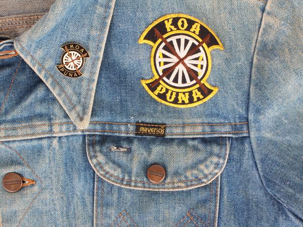 Vintage Denim Maverick Jacket