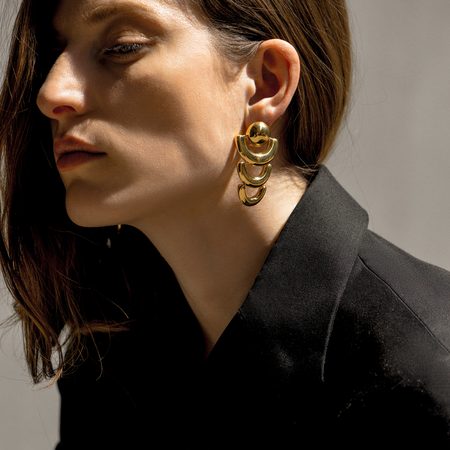 Agmes Short Joan Earrings