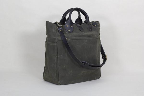 Waxed Garrison Bag