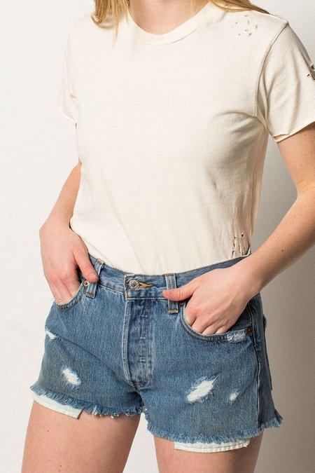 Levi's  501 Authorized Vintage Levis Shorts - blue