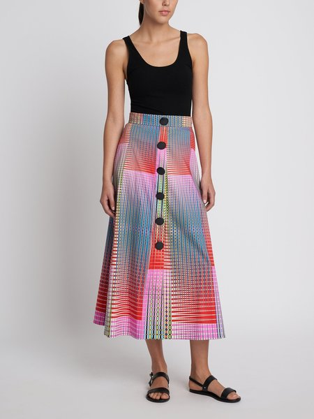 Saloni Charlotte Skirt - Optical Illusion