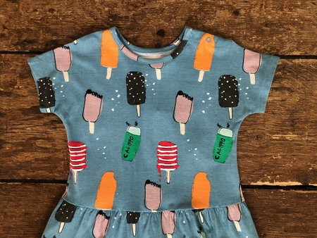 kids Nadadelazos Dress - Popsicles